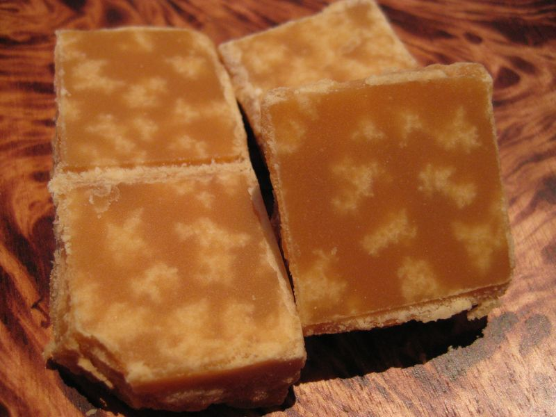 The Art And Mystery Of Food Scottish Tablet And Russian