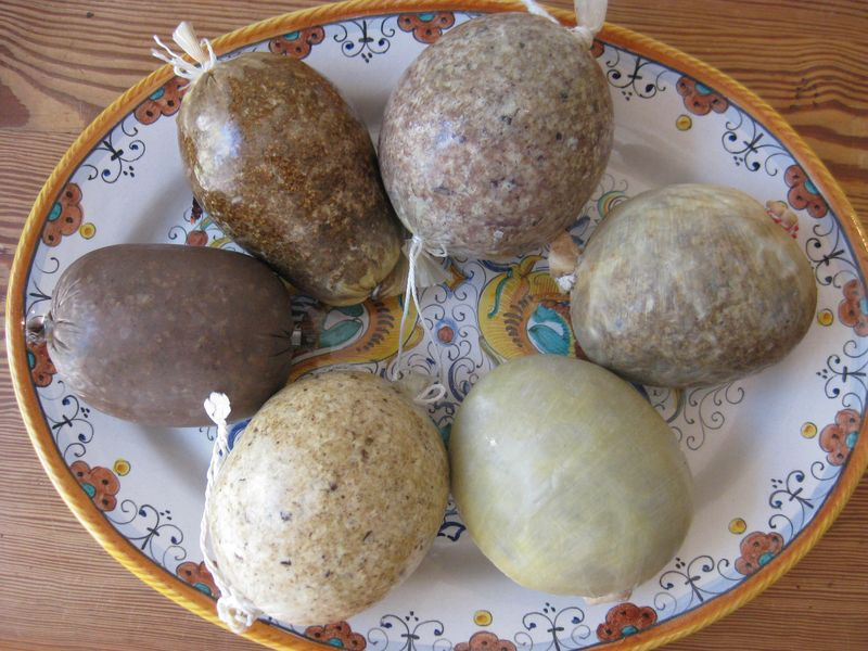 Image result for food art of haggis with a face